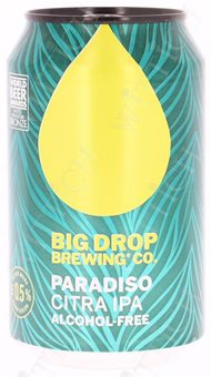 Big Drop Paradiso Citra IPA  0.5% Vol. 12 x 33 cl Dose