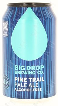 Big Drop Trail Pale Ale 0.5% Vol. 12 x 33 cl Dose