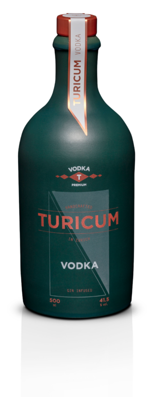 Vodka Turicum Premium  41,5% Vol. 50 cl