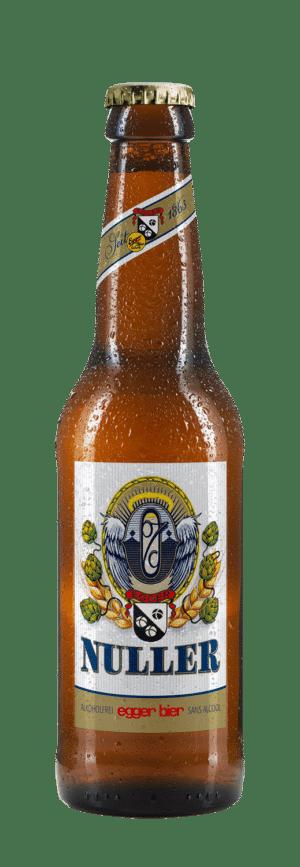 Egger Bier Nuller alkoholfrei 24 x 33 cl EW Flasche