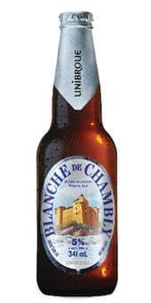 Unibroue Blanche De Chambly 5,0% Vol. 24 x 34,1cl EW Flasche Kanada
