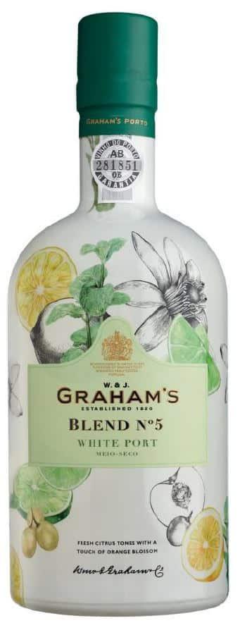 Porto Graham's Blend No 5 White Port 19% Vol. 75cl Portugal