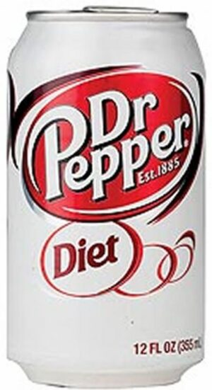 Dr. Pepper Diet 6 x 35,5 cl Dose
