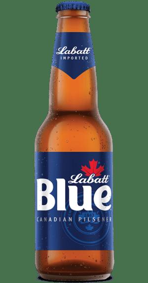 Labatt Blue Canadien Pilsener 5,0% Vol. 6 x 34,1cl EW Flasche Kanada