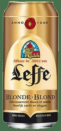 Leffe blonde Bier 6,6% Vol. 24 x 50cl Dose Belgien