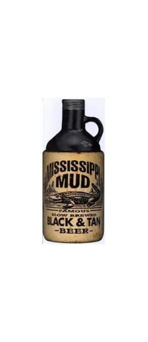 Mississippi Mud Black & Tan Beer 5% Vol. 75cl Amerika