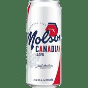 Molson Lager Beer 5% Vol. 6 x 71cl Dose Kanada