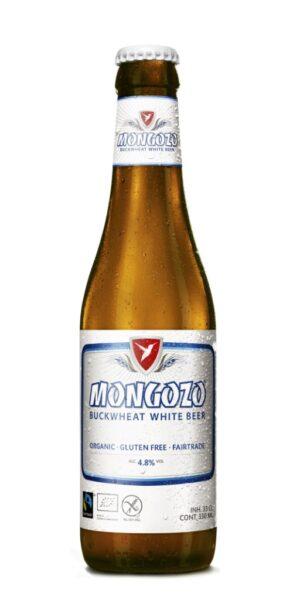 Mongozo White Gluten Free Beer 4,8% Vol. 24 x 33 cl MW Flasche Belgien
