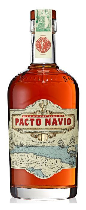 Corporation Ron S.A. Pacto Navio 40% cl 70 cl