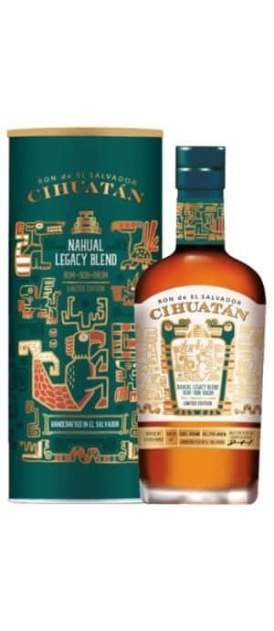 Ron Cihuatan Nahual Limited Edition 47,6% Vol. 70cl El Salvator ( so lange Vorrat )