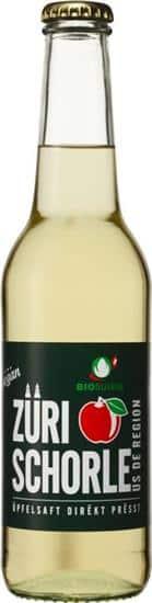 Apfelschorle, Züri Schorle 12 x 33 cl EW Flasche