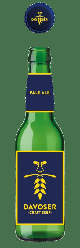 Davoser Craft Beer Pale Ale 24 x 33 cl EW Flasche