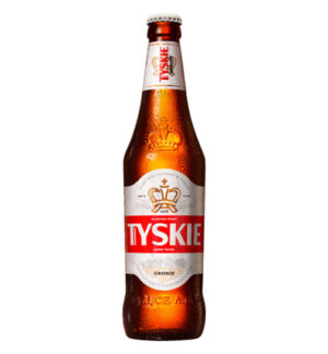 Tyskie Lager hell 5,6% Vol. 20 x 50 cl MW Flasche Polen