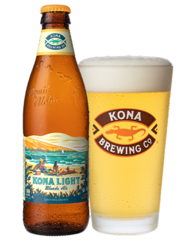KONA Light Blonde Ale 4,2% Vol. 24 x 35 cl EW Flasche