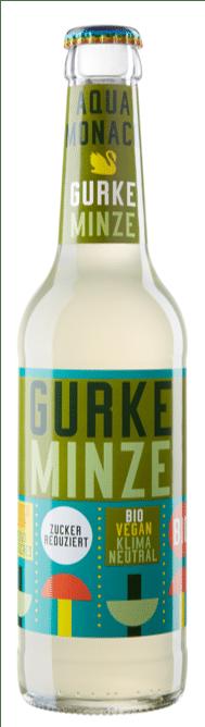 Aqua Monaco Gurke / Minze 24 x 33 cl MW Flasche