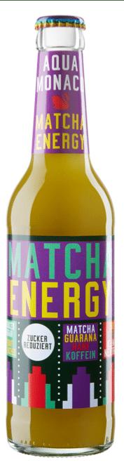 Aqua Monaco Matcha / Energy 24 x 33 cl MW Flasche