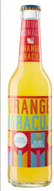 Aqua Monaco Orange / Maracuja 24 x 33 cl MW Flasche