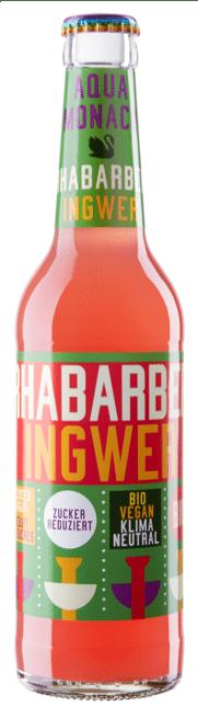 Aqua Monaco Rhabarber / Ingwer 24 x 33 cl MW Flasche
