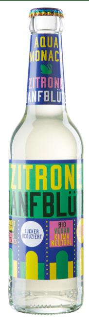 Aqua Monaco Zitrone / Hanfblüte 24 x 33 cl MW Flasche