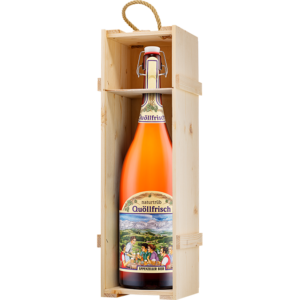 Appenzeller Quöllfrisch naturtrüb 300cl Magnum Bügelflasche mit Glasdeckel