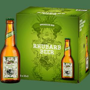 Appenzeller Rhubarb Beer 1,8% Vol. 6 x 33 cl EW Flasche