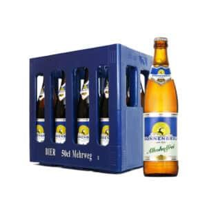 Sonnenbräu Alkoholfrei  10 x 50 cl MW Flasche