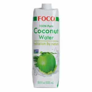 Foco Coconut Water 100% pure 12 x 100cl Tetra Vietnam