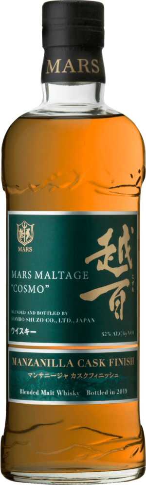 Mars Maltage «Cosmo» Manzanilla Cask Finish 42% Vol. 70cl Japan