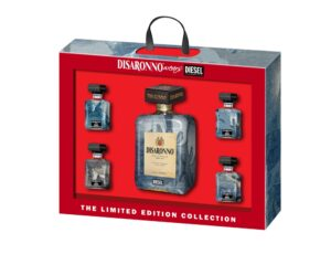 Disaronno wears Set Diesel 28% Vol 70cl & 4 x 5cl Italien ( so lange Vorrat )