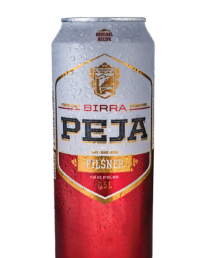 Peja Bier 4,2% Vol. 24 x 50cl Dose Kosovo