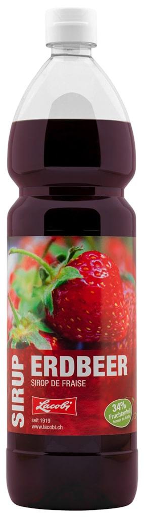 Sirup Erdbeer Lacobi 100 cl PET