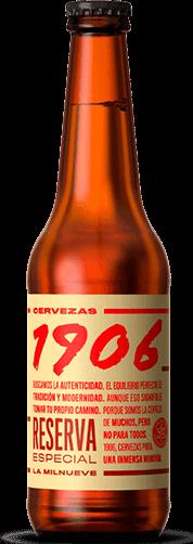 Estrella 1906 Reserva Especia 6,5% Vol. 24 x 33cl EW Flasche Spanien