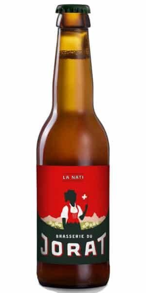Jorat La Nati 4.7% Vol. 24 x 33cl EW Flasche