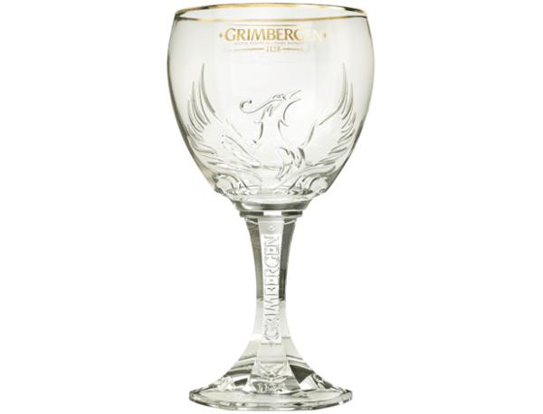Grimbergen 6 Pokal Gläser mit je 50 cl