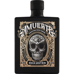 Amuerte Coca Leaf Gin Black Edition 43% Vol. 70cl Belgien