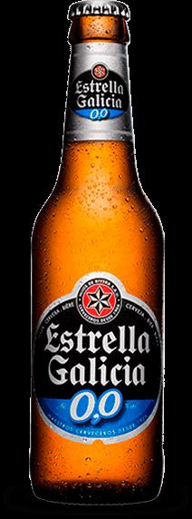 Estrella Galicia 0,0 alkoholfrei 24 x 25cl EW Flasche Spanien