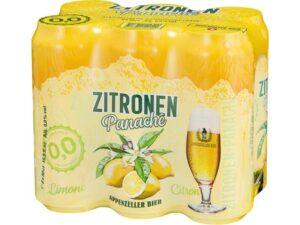 Appenzeller Zitronen Panaché alkoholfrei 24 x 50cl Dose