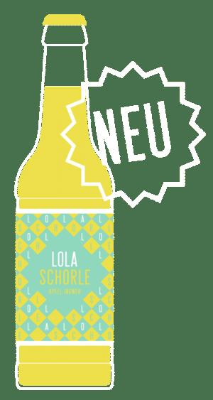 Lola Schorle Apfel Ingwer 24 x 33 cl MW Flasche