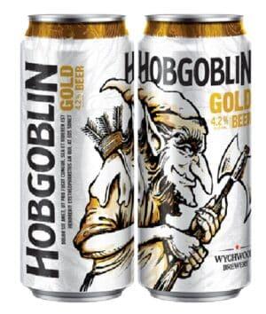 Wychwood Hobgoblin Gold 4.5% Vol. 24 x 50 cl Dosen England