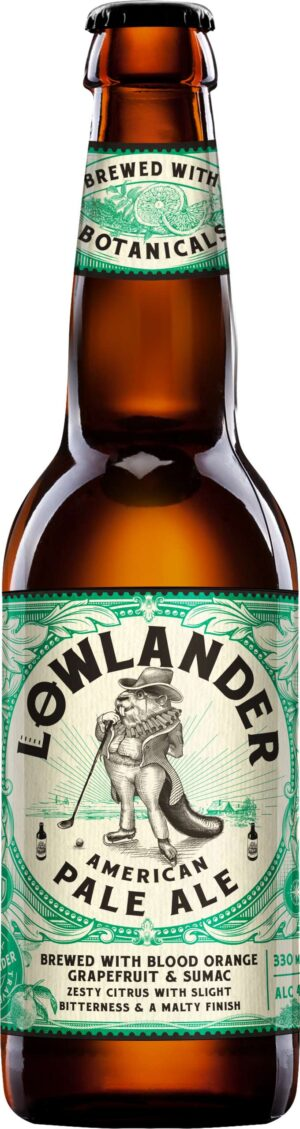 Lowlander American Pale Ale 4,5% Vol. 33 cl EW Flasche Holland