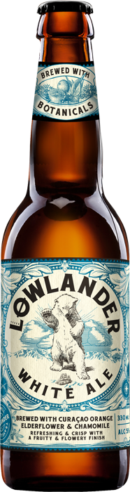 Lowlander White Ale 5.0% Vol. 24 x 33 cl EW Flasche Holland