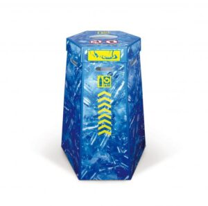 PET-Recycling 110-Liter Kunststoff-Sammelbox