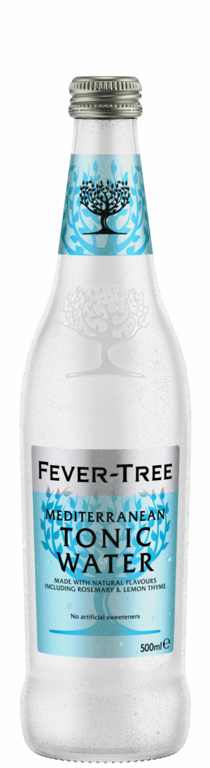 Fever Tree Mediterranean Tonic Water 8 x 50cl EW Flasche