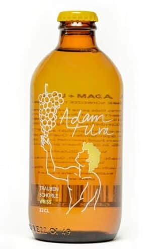 Adam + Uva Traubenschorle weiss 20 x 33 cl MW Flasche