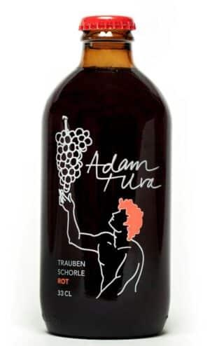 Adam + Uva Traubenschorle rot 20 x 33cl MW Flasche