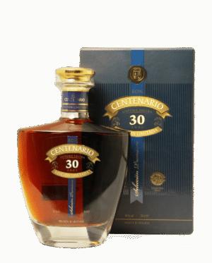 Rum Ron Centenario 30 años 40% Vol. 70 cl Guatemala