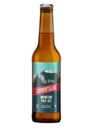 Simmentaler Mountain Pale Ale 5.2% Vol. 24 x 33cl EW Flasche