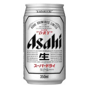 Asahi Super Dry 5,0% Vol. 24 x 33cl Dose Japan