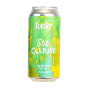 Yonder Sub Culture 4,0% Vol. 12 x 44 cl Dose England