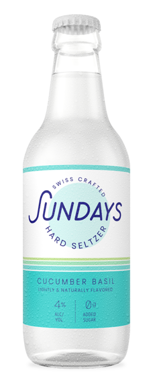 Sunday Hardseltzer Cucumber 4.0% Vol. 24 x 33cl EW Flasche